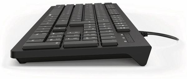 USB-Tastatur HAMA KC-200, schwarz - Produktbild 3
