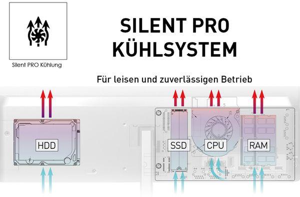 AIO PC MSI PRO 24X 10M-050DE, Intel i7, 16GB RAM, Win10Pro - Produktbild 6