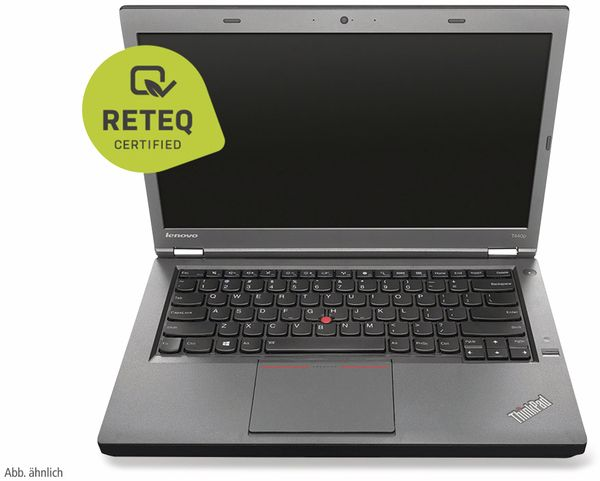 "Notebook LENOVO ThinkPad T440P, 14"", Intel i5, 8GB RAM, Win10P, Refurbished - Produktbild 2"