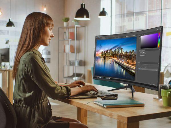 Monitor ODYS XP 32, 2560x1440, EEK: A, HDMI, 2x DP - Produktbild 4