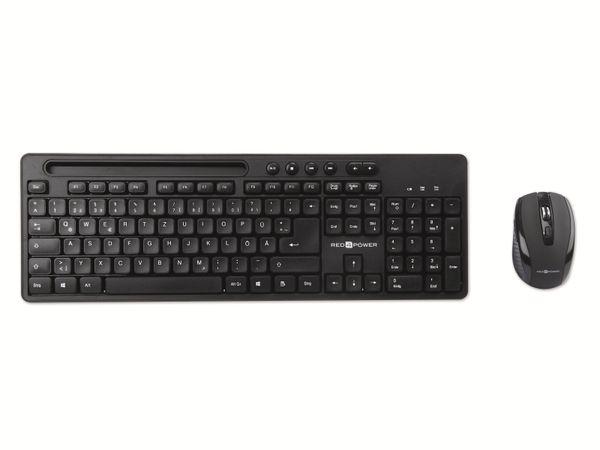 Kabelloses Tastatur/Maus-Set RED4POWER R4-B104W