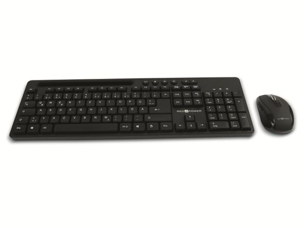 Kabelloses Tastatur/Maus-Set RED4POWER R4-B104W - Produktbild 2