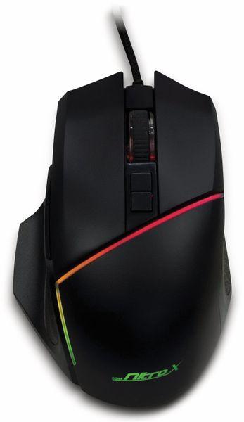 USB-Maus INTER-TECH GT-100, RGB, 6400 dpi - Produktbild 3