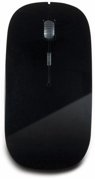 Funkmaus INTER-TECH M-229, flach - Produktbild 2