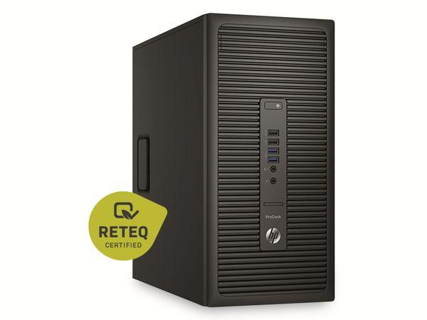PC HP ProDesk 600 G2 MT, G4520 3,6GHz, 16GB, 2TB HDD, 128GB SSD, Win10Pro, Refurbished - Produktbild 2