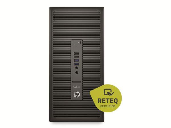 PC HP ProDesk 600 G2 MT, G4520 3,6GHz, 16GB, 2TB HDD, 128GB SSD, Win10Pro, Refurbished - Produktbild 3