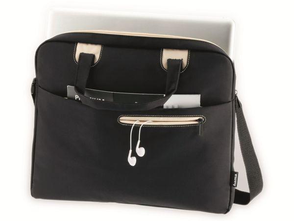 """Notebook-Tasche HAMA Sidney, 14,1"""", schwarz/beige - Produktbild 2"""