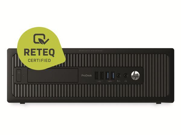 PC HP Prodesk 600 G1 SFF, Intel i3, 16GB RAM, 240GB SSD/2TB HDD, Win10P, Refurbished - Produktbild 2