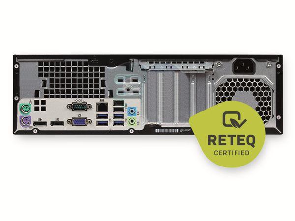 PC HP Prodesk 600 G1 SFF, Intel i3, 16GB RAM, 240GB SSD/2TB HDD, Win10P, Refurbished - Produktbild 3
