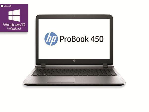"Notebook HP ProBook 450 G3, Intel i3, 15,6"", 8GB RAM, 256GB SSD, Win10P, Refurbished"