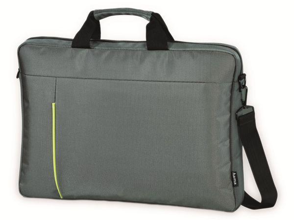 """Notebook-Tasche HAMA Kapstadt II, 14,1"""", grau/grün"""