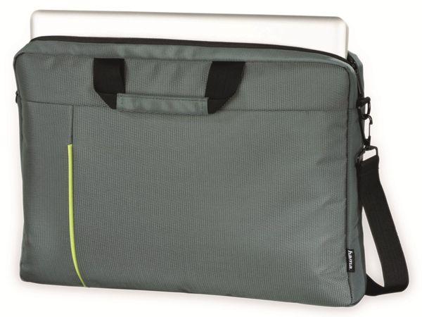 """Notebook-Tasche HAMA Kapstadt II, 14,1"""", grau/grün - Produktbild 2"""