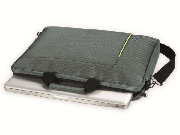 """Notebook-Tasche HAMA Kapstadt II, 14,1"""", grau/grün - Produktbild 3"""