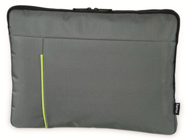 "Notebook-Sleeve HAMA Kapstadt II, 15,6"", grau/grün"