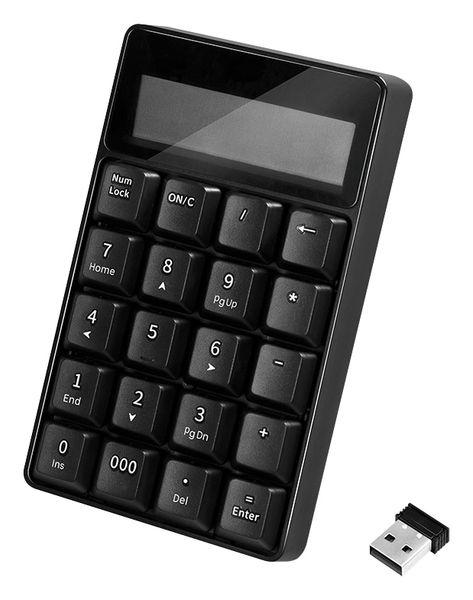 Keypad LOGILINK ID0199, Taschenrechner, 2,4 GHz, 20 Tasten