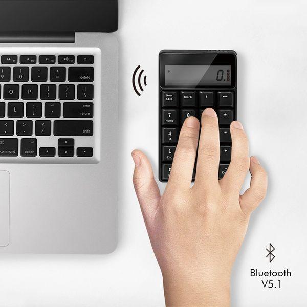 Keypad LOGILINK ID0200, Taschenrechner, Bluetooth, 20 Tasten - Produktbild 2