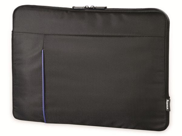 "Notebook-Sleeve HAMA Kapstadt II, 14,1"", schwarz/blau"