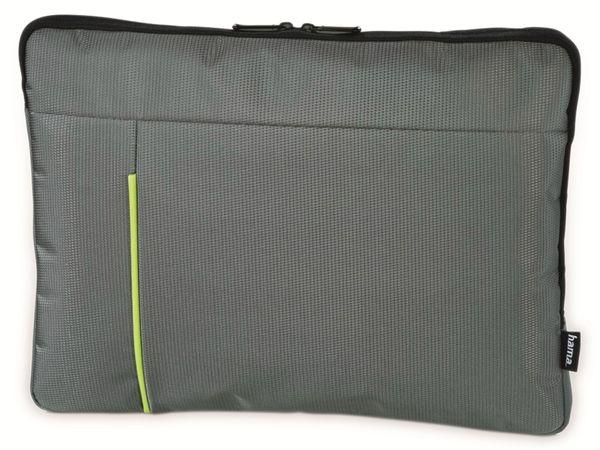 "Notebook-Sleeve HAMA Kapstadt II, 14,1"", grau/grün"