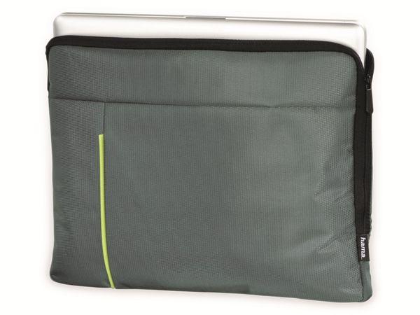 "Notebook-Sleeve HAMA Kapstadt II, 14,1"", grau/grün - Produktbild 2"