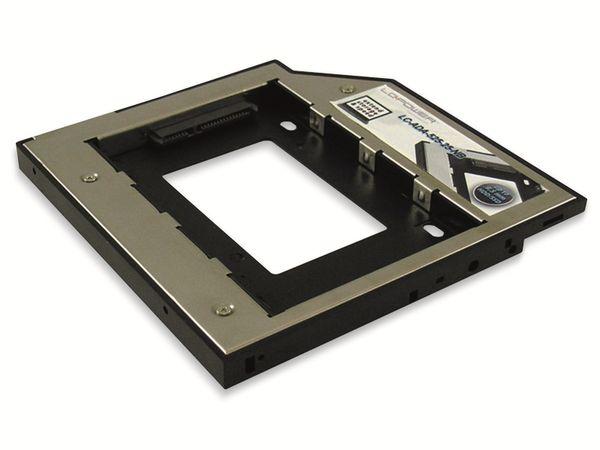 "Festplattenadapter LC-POWER LC-ADA-525-25-NB, 5,25"" auf 2,5"""