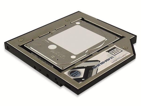 """Festplattenadapter LC-POWER LC-ADA-525-25-NB, 5,25"""" auf 2,5"""" - Produktbild 3"""