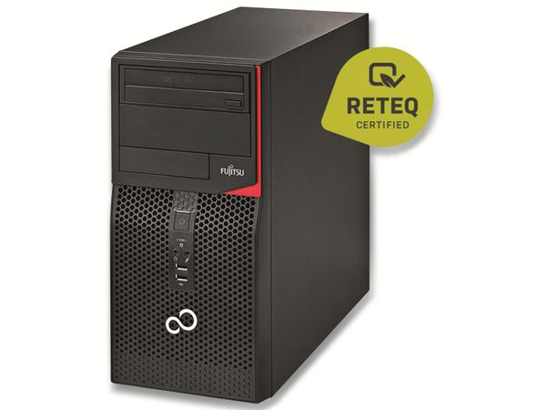 PC FUJITSU Esprimo P520 E85+, Intel i5, 24GB RAM, 1 TB SSD, Win10P, Refurbished - Produktbild 2