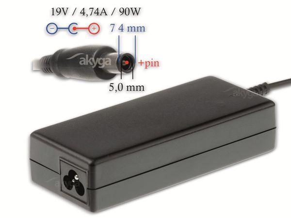 Notebook-Netzteil AKYGA AK-ND-04, 90 W, 19 V, 4,74 A