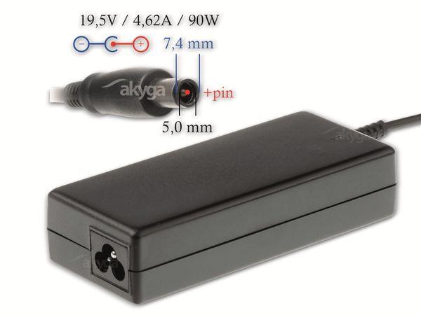 Notebook-Netzteil AKYGA AK-ND-07, 90 W, 19,5 V, 4,62 A