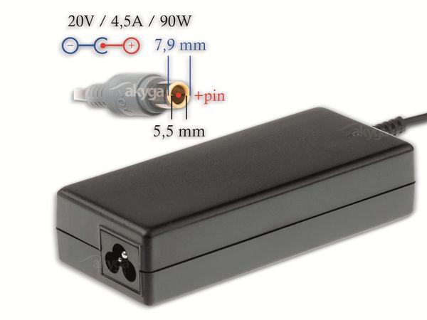 Notebook-Netzteil AKYGA AK-ND-18, 90 W, 20 V, 4,5 A