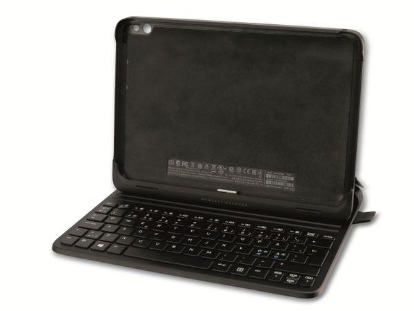 Tablet-Cover HP 724301-DH1 (für Elitepad 1000 G2), Tastatur, QWERTY, schwarz
