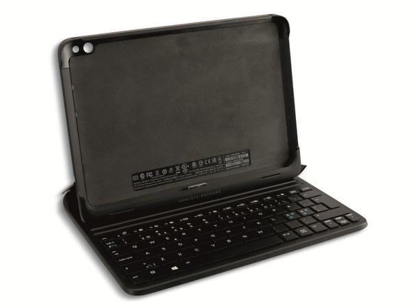 Tablet-Cover HP 724301-DH1 (für Elitepad 1000 G2), Tastatur, QWERTY, schwarz - Produktbild 2