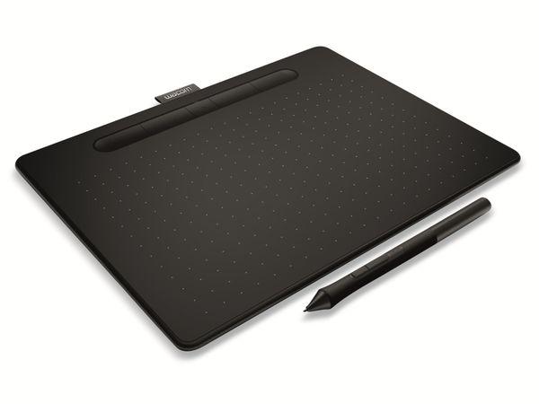 "Grafiktablet WACOM Intuos M, 10"", Bluetooth, schwarz - Produktbild 2"