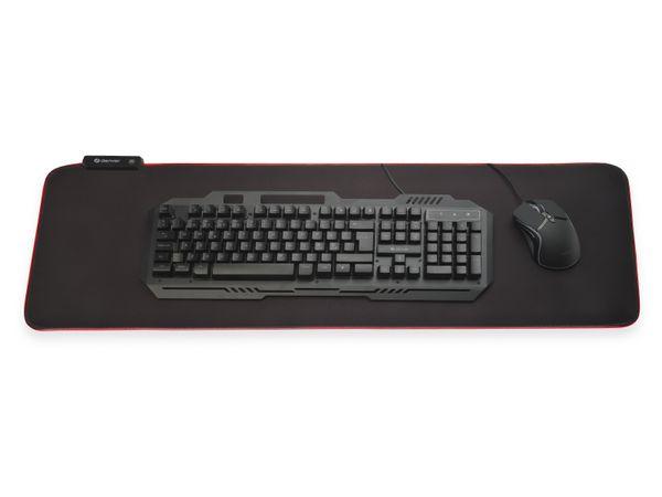 Gaming-Mauspad DENVER MPL-250, 30x80 cm, mit Lichteffekte