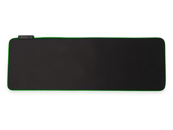 Gaming-Mauspad DENVER MPL-250, 30x80 cm, mit Lichteffekte - Produktbild 3
