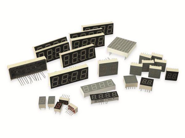 LED-Anzeigen, 25 Stück
