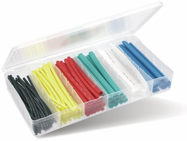 Schrumpfschlauch-Sortiment, farbig