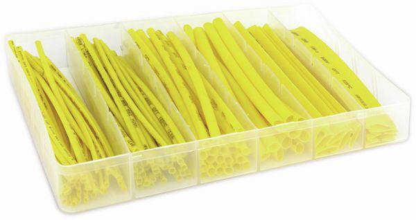 Schrumpfschlauch-Sortiment, gelb