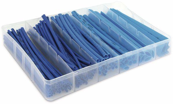 Schrumpfschlauch-Sortiment, blau