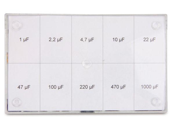 Sortiment Elkos, 1...1000 µF, 16 V-, 70-teilig - Produktbild 3