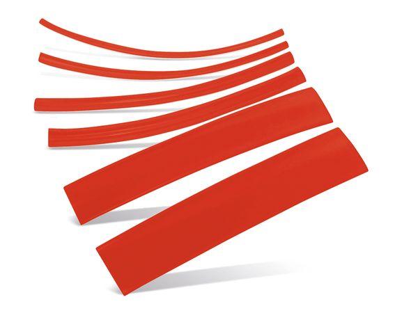 Schrumpfschlauch-Sortiment, Nachfüllset, rot