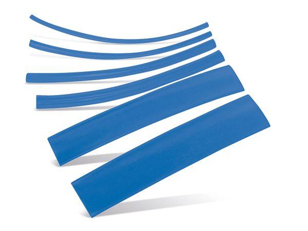 Schrumpfschlauch-Sortiment, Nachfüllset, blau
