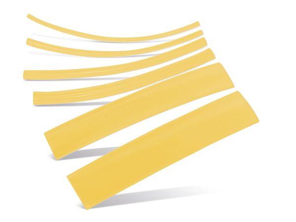 Schrumpfschlauch-Sortiment, Nachfüllset, gelb
