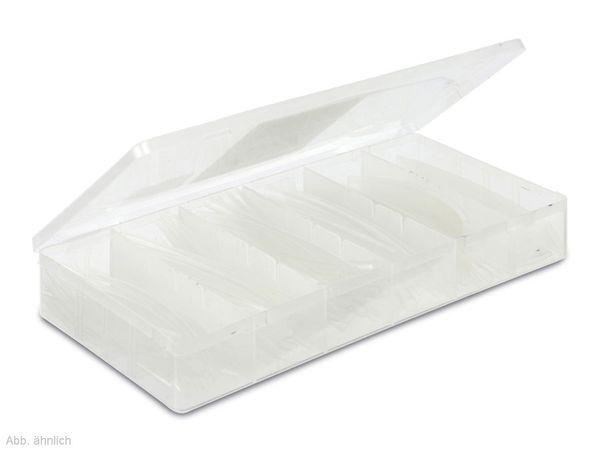 Schrumpfschlauch-Sortiment, weiß - Produktbild 1