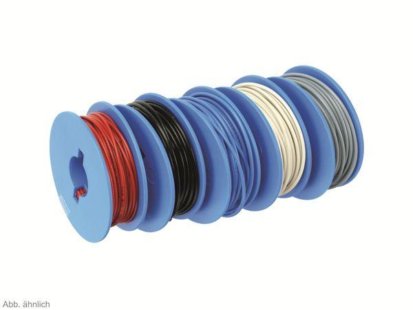 Litzen-Sortiment auf Spulen, 0,25 mm², 5x 10 m
