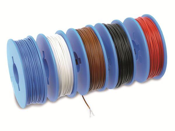 Litzen-Sortiment auf Spulen, 0,09 mm², 5x 20 m - Produktbild 3