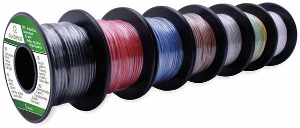 QUADRIOS, 19011CA087, PVC-Schaltlitzen Sortiment LiFY – 0,5 mm², 7-teilig, je 5 m - Produktbild 2