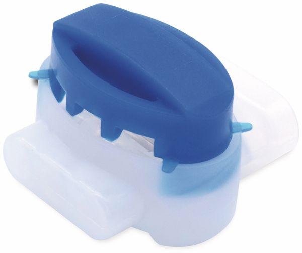 QUADRIOS, 1905C129, Aderverbinder 3-polig, Gel-gefüllt, Blau, 0,5 – 1,5 mm, 15 St - Produktbild 2