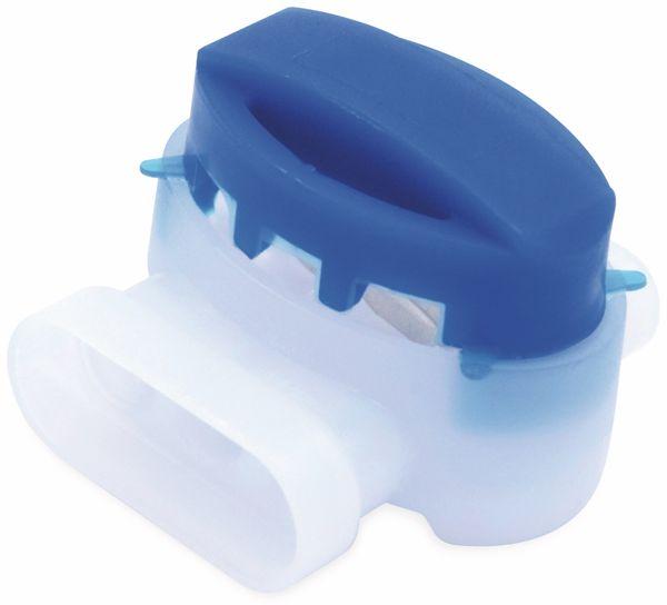 QUADRIOS, 1905C129, Aderverbinder 3-polig, Gel-gefüllt, Blau, 0,5 – 1,5 mm, 15 St - Produktbild 3