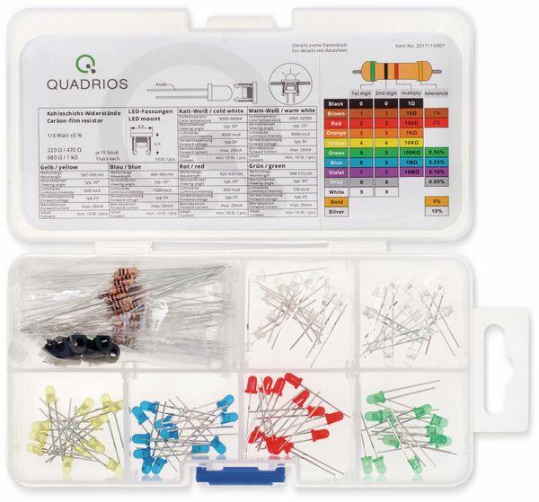 QUADRIOS, 201711O001, Standard LED-SET 3 mm, Diffus, Klar, 130 ST - Produktbild 2