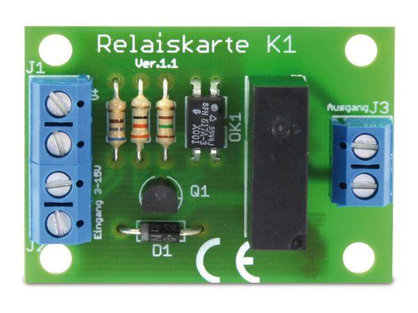 Bausatz Relaiskarte K1 - Produktbild 3